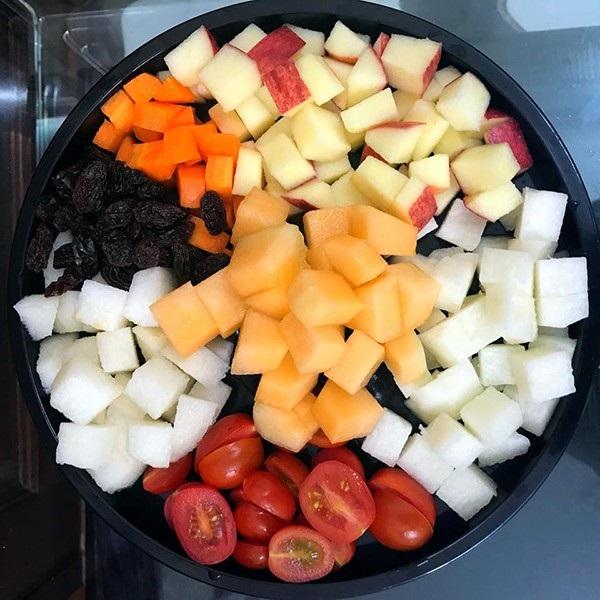 cách làm salad Nga hoa quả 5
