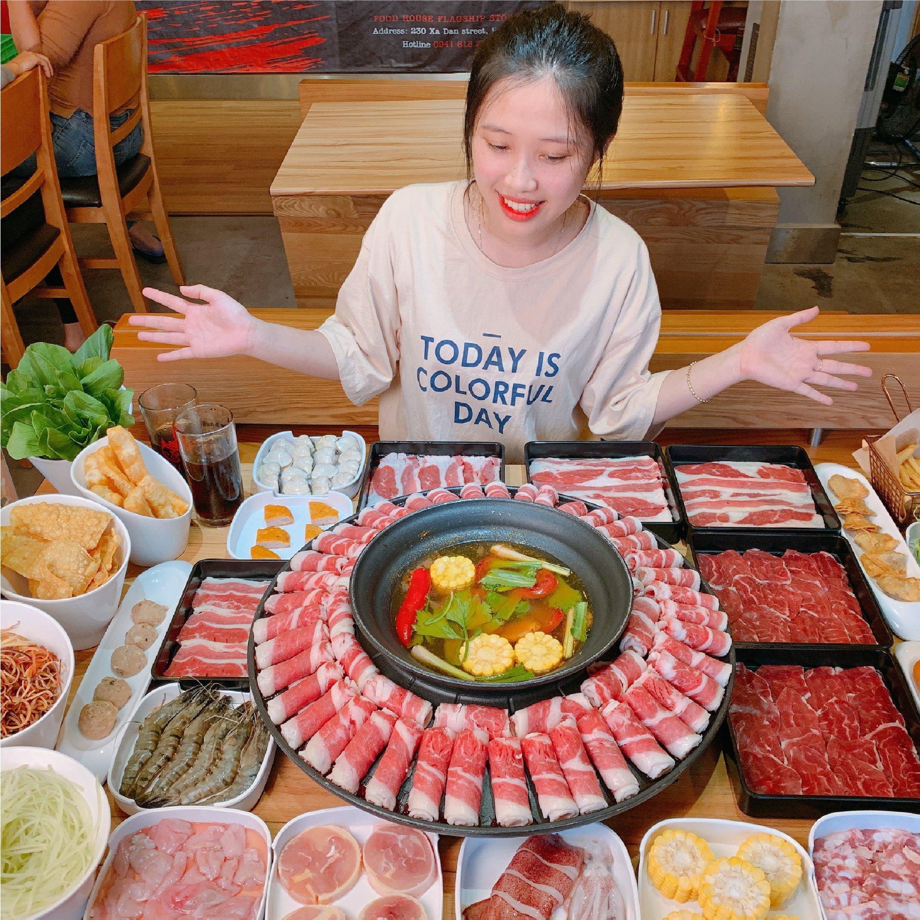 Menu Food House