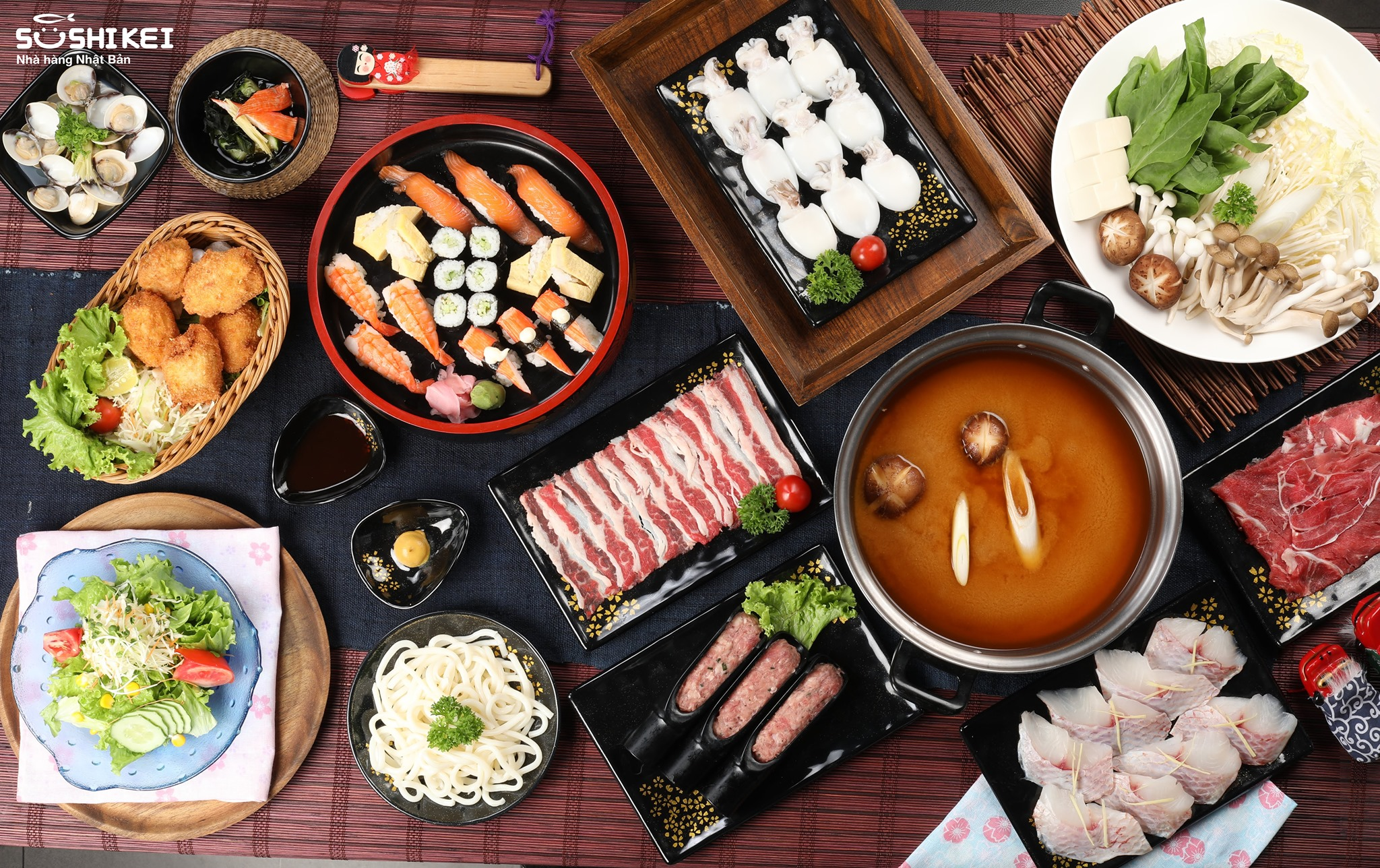Menu Sushi Kei