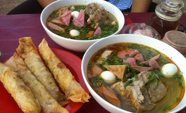 menu Bánh Canh Ruộng