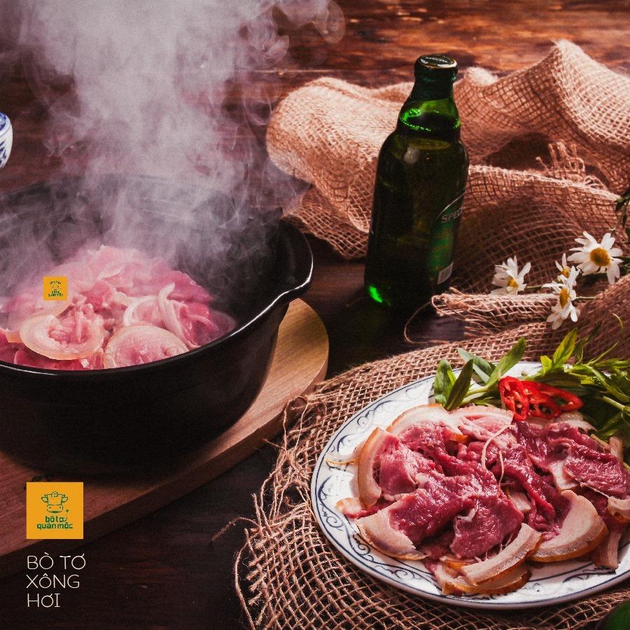 menu Bò Tơ Quán Mộc