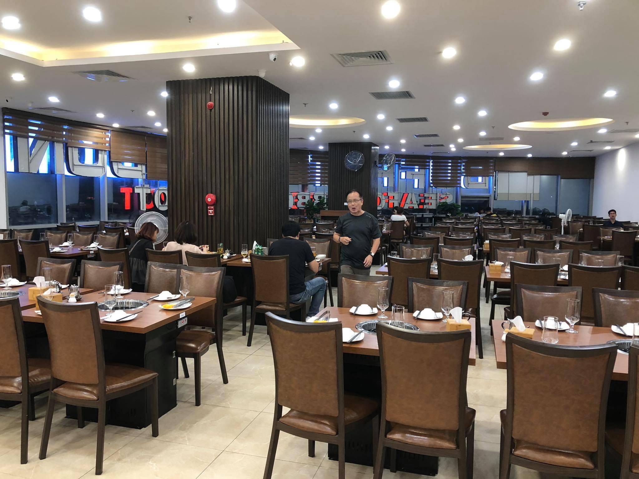 nhà hàng Buffet Poseidon