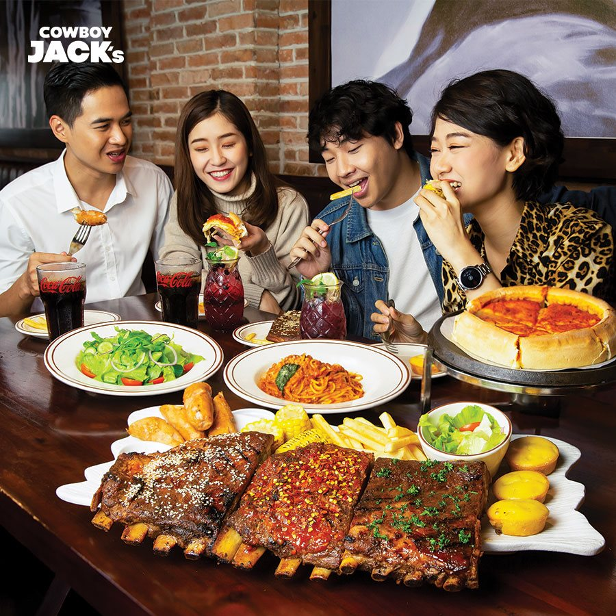 nhà hàng Cowboy Jack's American Dining