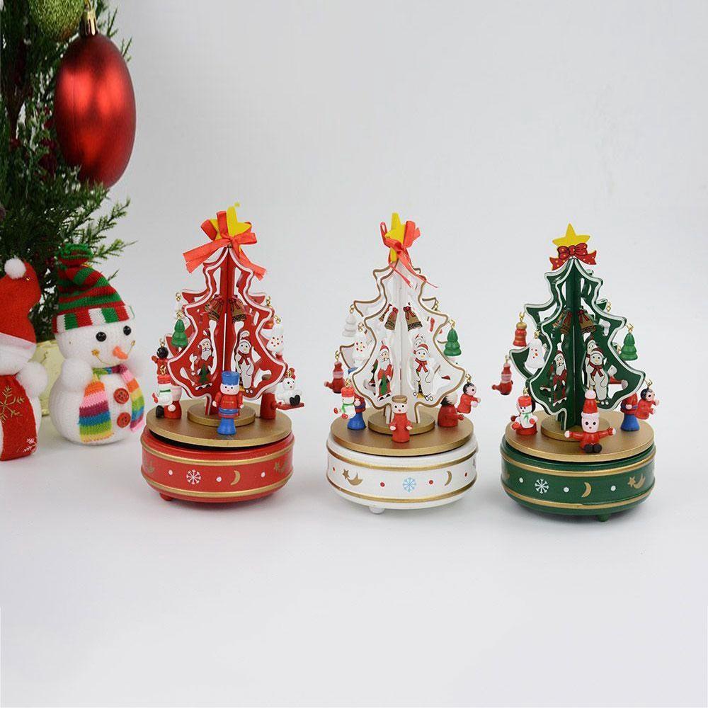Hộp nhạc Giáng Sinh, quà Noel cho bé