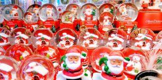 Quà Noel cho bé, quả cầu tuyết