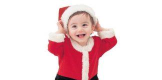 Trang phục Ông già Noel, quà Noel cho bé