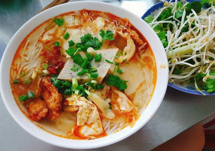 review Bún chả cá Đà Nẵng