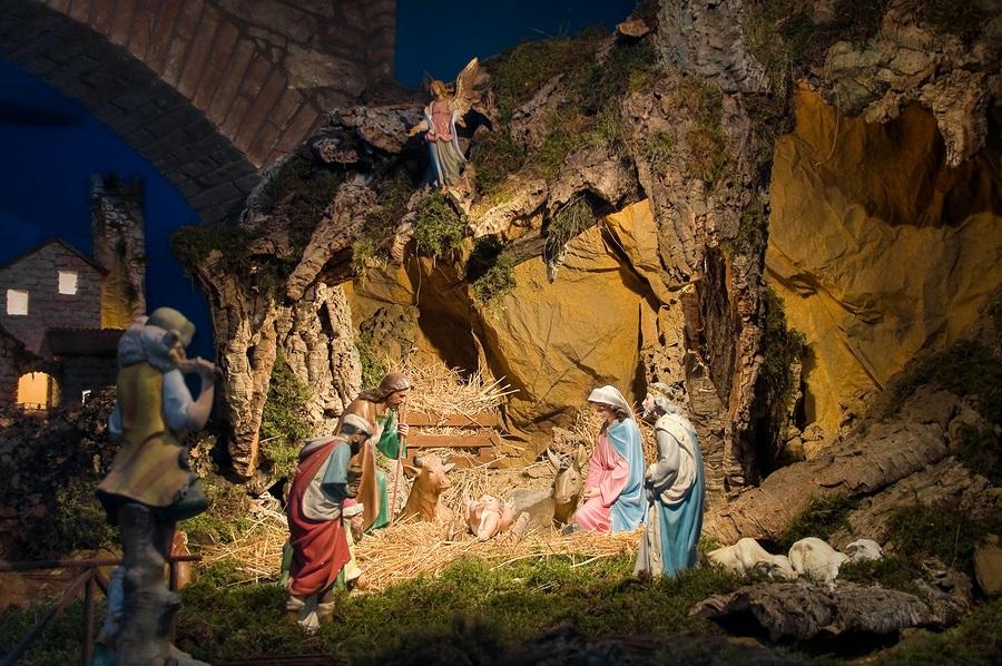 Hang đá Giáng Sinh 2